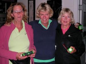 Ulla-Britt Svensson, Monica Frii och Eva Lundmark