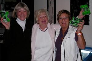 Gunilla Niklasson, Elisabeth Hermansson och Bibbi Sternéus