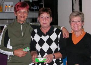 Helen Rutgerson, Inger Mirenius och Anna-Britta Burgren